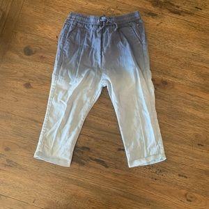 Zara baby boy hombre blue pants
